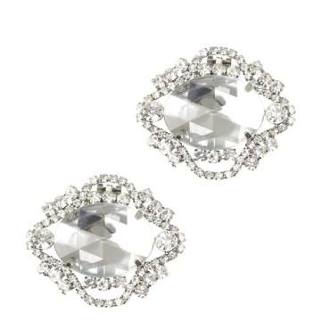 Clip Shoes NARCISSE cristal - Chaussures femmes petites pointures