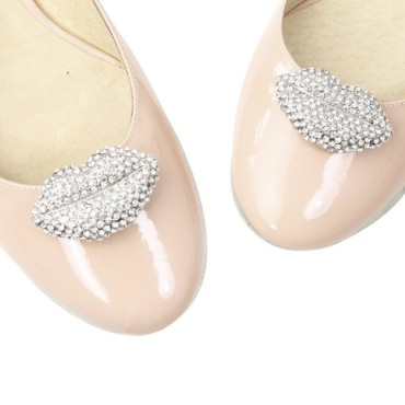 Clip Shoes MARYLIN cristal - Chaussures femmes petites pointures