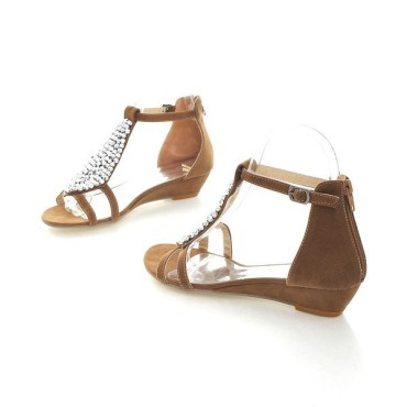 Sandales marrons Cécilia