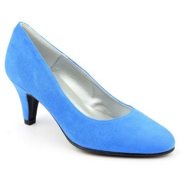 Escarpins Daim Brenda Zaro, bleues azul clair, talon 6.5 cm, F96136