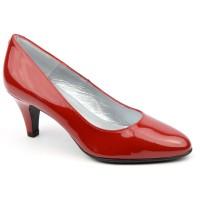 Escarpins Cuir Verni Brenda Zaro, rouges, Talon 6.5 cm, F96136