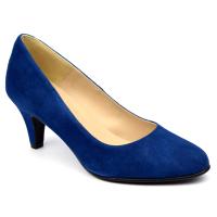 Escarpins Daim Brenda Zaro, bleu roi fonçé, Talon 6.5 cm, F96136