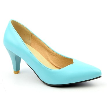 Escarpins bleus Pricilia