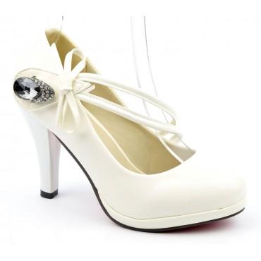 Escarpins Blancs Tess