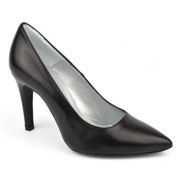 Escarpins cuir mat, noire, Brenda Zaro, F2207