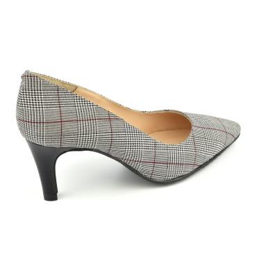 Espadrilles, sandales compensées, toile, multicolores, rayures, Norma, Toni Pons