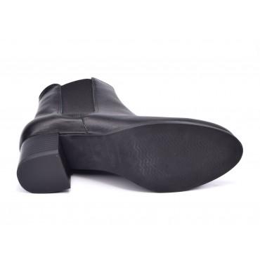 Sandales mi-fermées, talons compensés, cuir daim, beige , XA0230J, Zoo Calzados