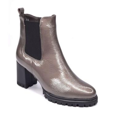 Sandales compensées, verni blanc, XA0094J, Zoo Calzados