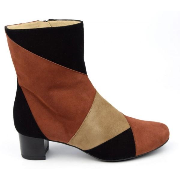 Sandales cuir fantaisie argent, 7207, Yves de beaumond