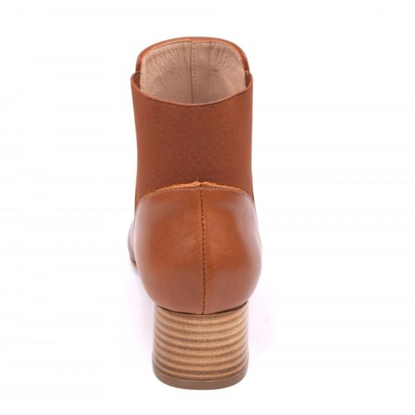 vente en magasin convient aux hommes/femmes États Unis Bottines, talons compensés, cuir daim marron, 5763, Plumers Menorca -  PETITS SOULIERS