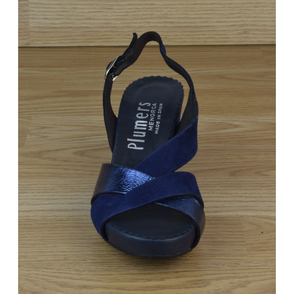 Low boots à lacets, bouts pointus, cuir lisse noir, 4975, Plumers Menorca