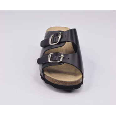 Bottes cavalières, cuir lisse noir, XA0345, Xaira