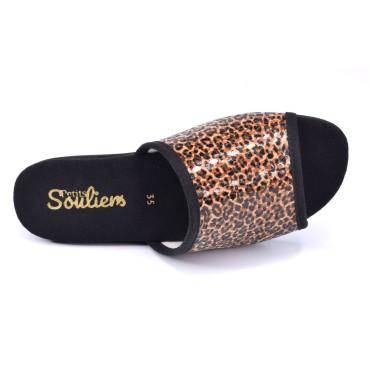 Bijoux clip chaussures Maya noire froufrouz Paris