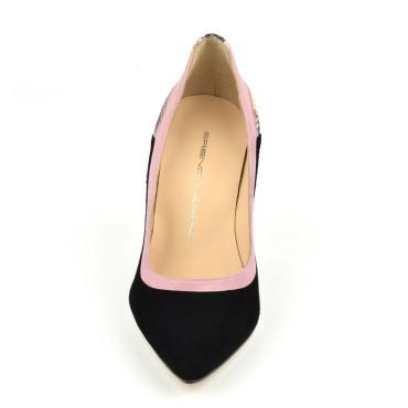 Bijoux clip chaussures Birdie noir froufrouz Paris
