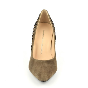Bijoux clip chaussures Oxana noire froufrouz Paris