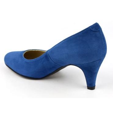 Espadrilles, sandales compensées, toile, multicolores, Bleues, Terra-RK, Toni Pons, été 2019