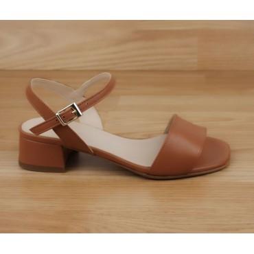 Sandales à plateau, petites pointures, cuir lisse argent, 3930, Plumers