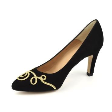Sandales cuir lisse blanc, petits talons, F97821, Brenda Zaro