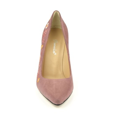 Sandales cuir lisse argent, petits talons, F97821, Brenda Zaro