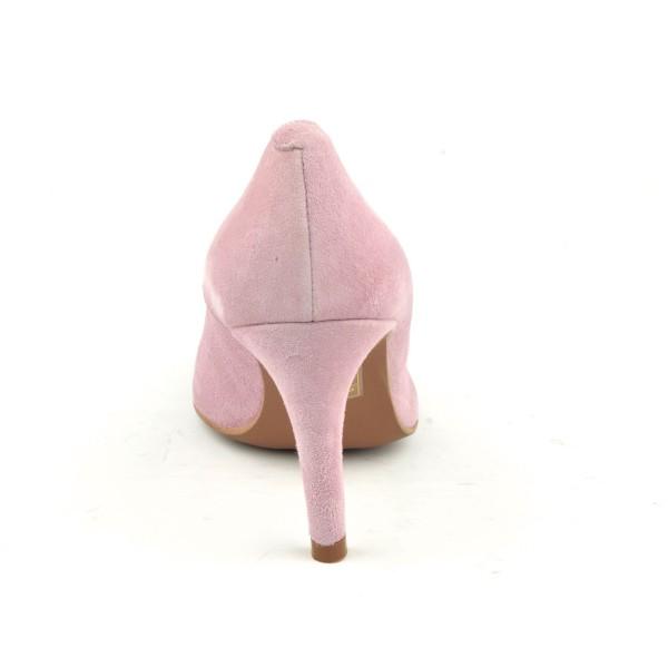 Sandales talon compensé, daim noir, FZ3285, Brenda Zaro