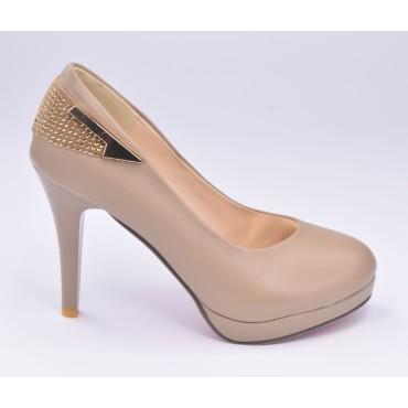 Sandales habillées, cuir daim bleu ciel pailleté bleu, F2674, Brenda Zaro