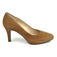 Escarpins bouts pointus, talons 6.5 cm, cuir lisse, blanc, F97803D, Brenda Zaro