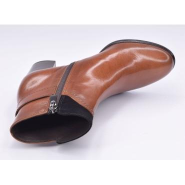 Escarpins cuir imprimé fantaisie, or, Brenda Zaro, talon 8 cm, F96559