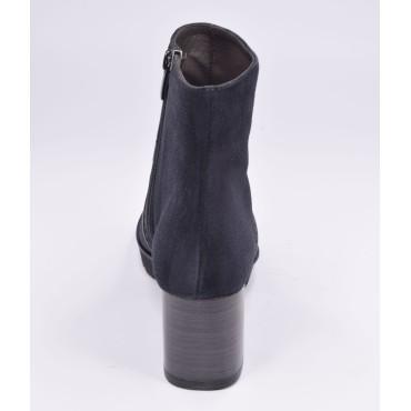 Escarpins bouts pointus, cuir imprimé fantaisie, Brenda Zaro, or, 6.5 cm, LS1406