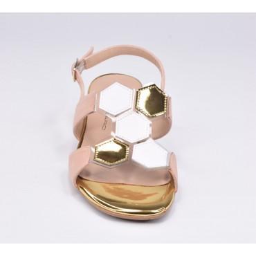Boots boucles croisées, cuir lisse noir, 5890, Plumers