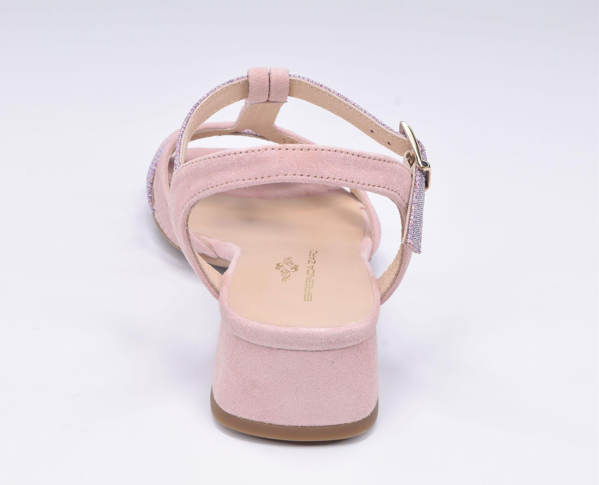 Espadrilles, sandales compensées bout ouvert, cuir lisse