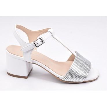 Sandales talons carrés, daim noir, F1962W, Brenda Zaro