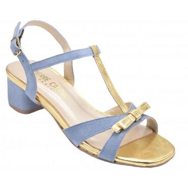 Escarpins, mi-saison, verni rouge, Ariane, Pierre Cardin