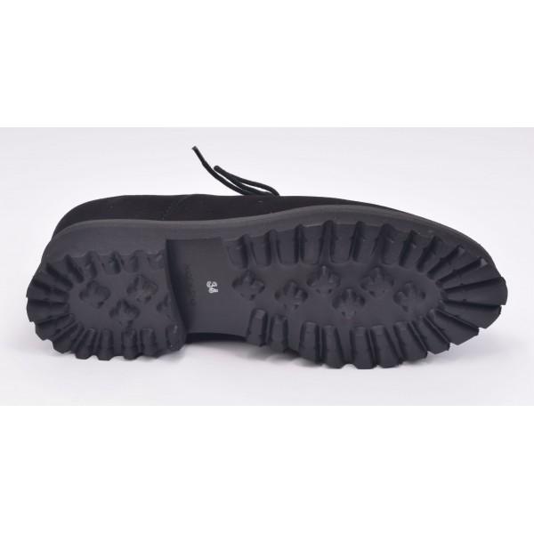 Sandales plateforme, daim rouge, 3319, Plumers