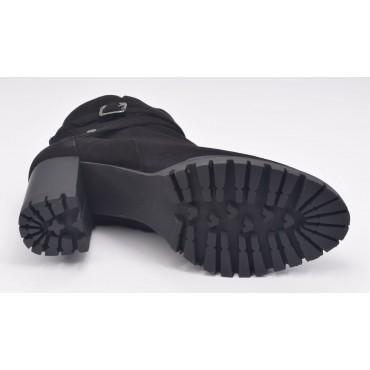 Sandales plateforme, cuir pailleté argent, 3321, Plumers