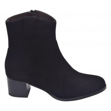 Sandales plateforme, cuir craquelé noir, 3290, Plumers
