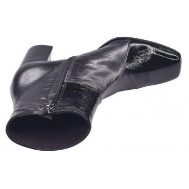 Sandales bride cheville, cuir pailleté argent, T3596A Brenda Zaro
