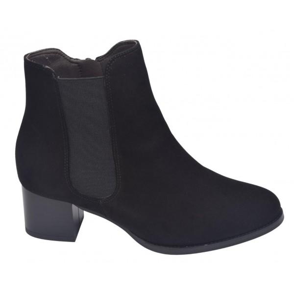 Sandales plateforme, daim cognac, 3329, Plumers