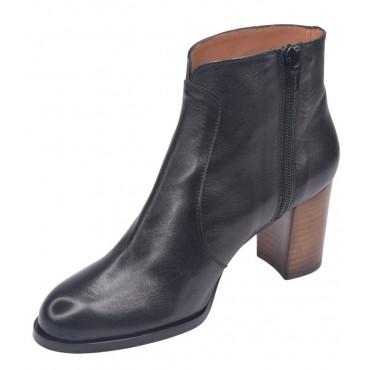 Sandales talons compensés, cuir lisse or, 3234, Plumers