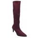 Sandales petits talons carrés, cuir craquelé blanc, 3218, Plumers, femme petite pointure