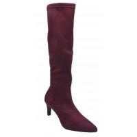 Sandales petits talons carrés, cuir craquelé blanc, 3218, Plumers