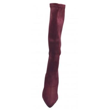 Espadrilles, sandales compensées bout ouvert, daim bleu jean, Llivia, Toni Pons, 2020