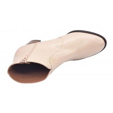 Sandales plateforme, cuir bi matière, camel, 3333, Plumers