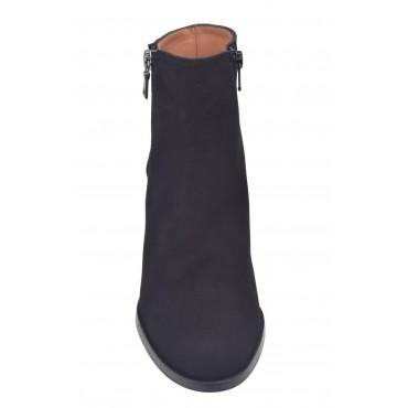 Sandales plateforme, cuir bi matière, bleu marine , 3312, Plumers