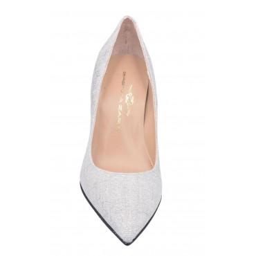Sandales plateforme, cuir craquelé beige, 3290, Plumers