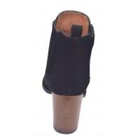Sandales talons épais, cuir tressé, rouge, 3204, Plumers