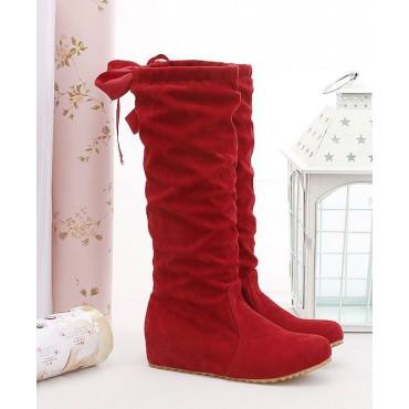 Bottes rouges Yahna