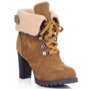 Bottines camel Melory