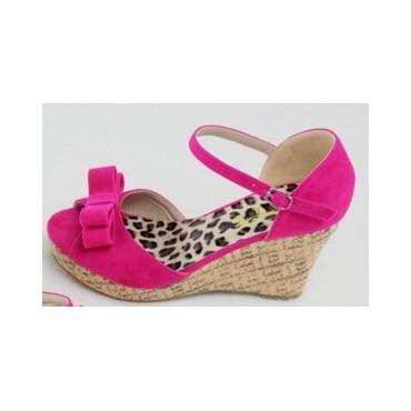 Sandales fushia Tsipora