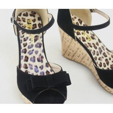 Sandales noires Tsipora